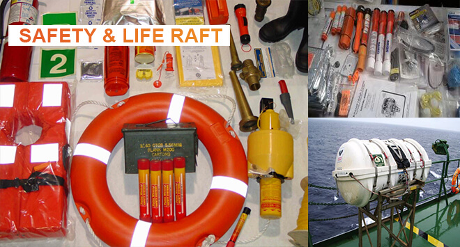 Safety and Life Raft